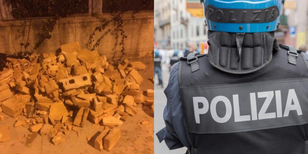 A Torino immigrati lanciano mattoni
