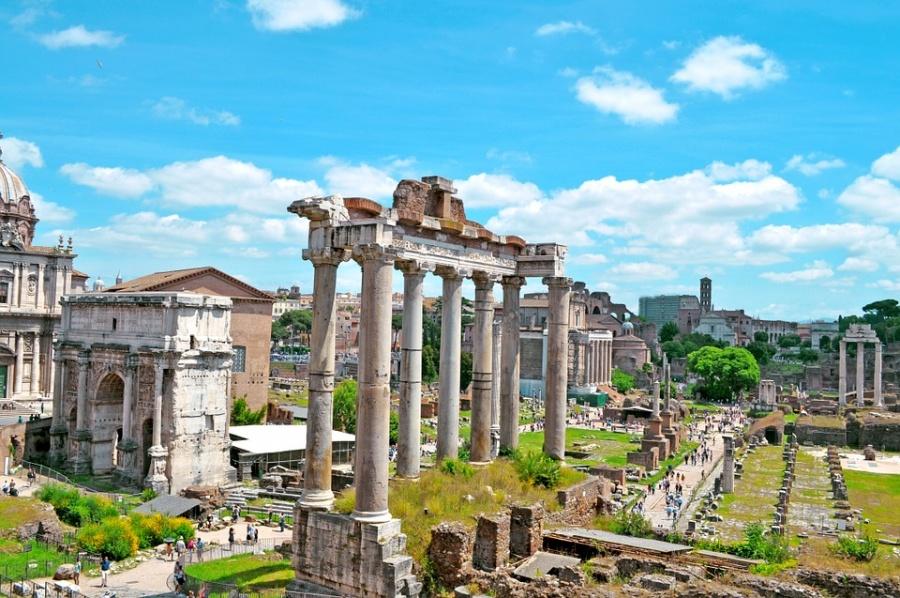 Nel foro romano scoperta la Tomba di Romolo