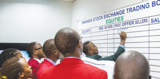 Ruanda, stock exchange