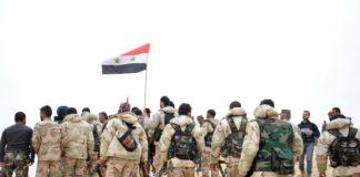 Ebla, esercito siriano