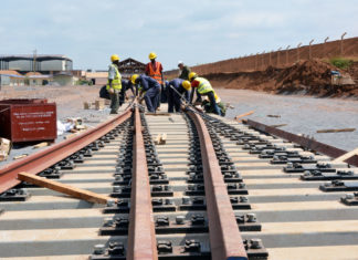 Tanzania, ferrovia