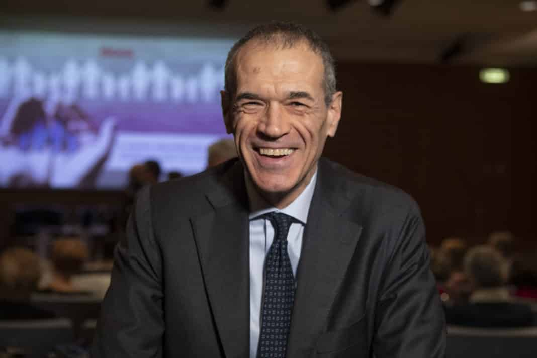 Carlo Cottarelli e la battuta sul coronavirus