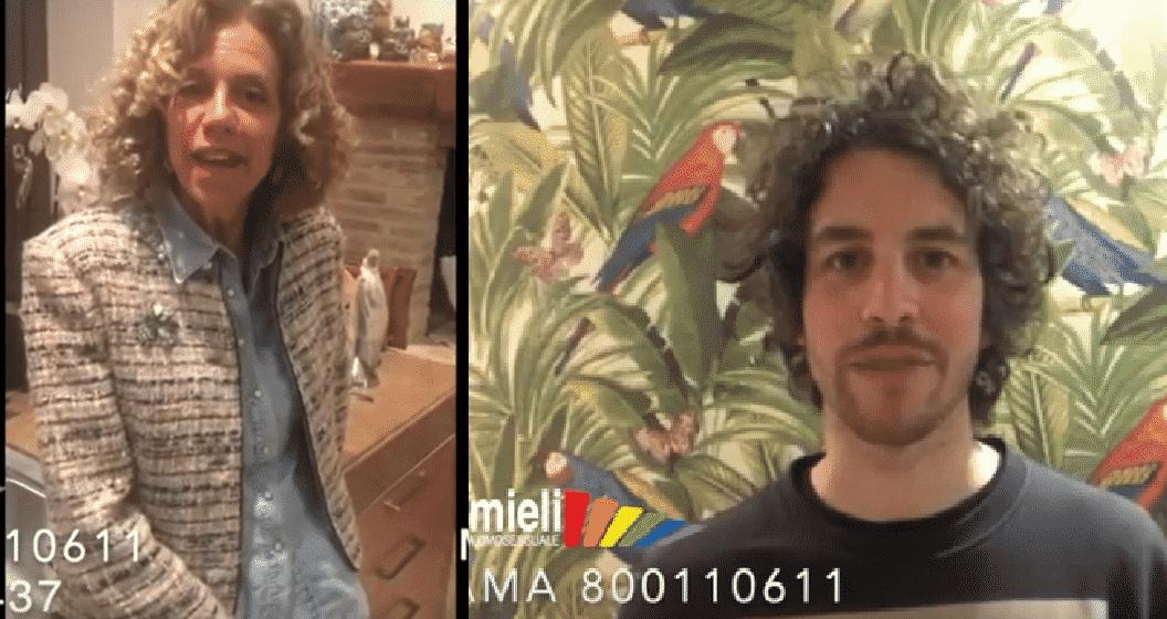 Monica Cirinnà e Mattia Santori per la linea gay