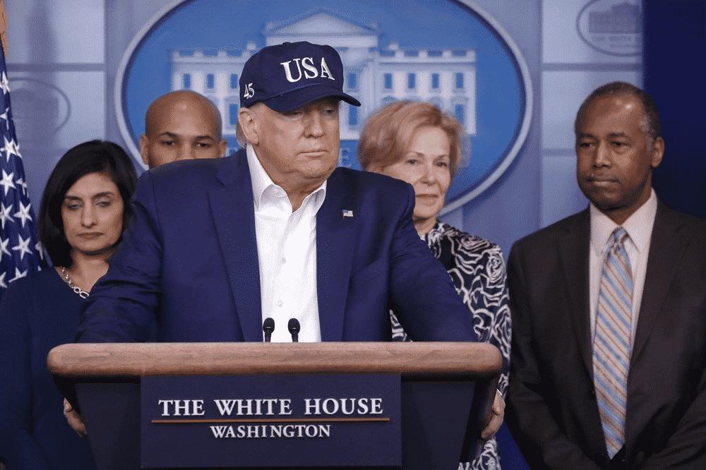 Donald Trump e il coronavirus