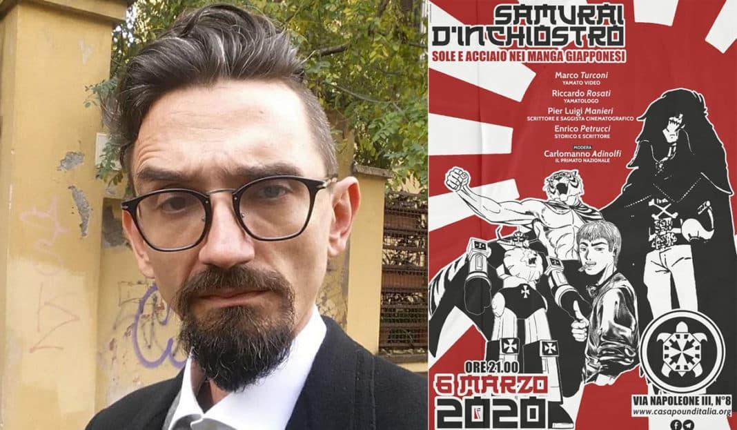 Roberto Recchioni CasaPound antifa