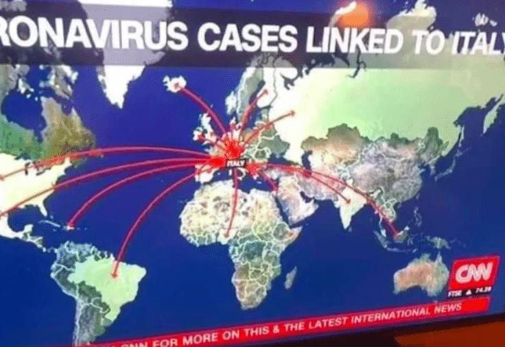 stampa estera coronavirus italia