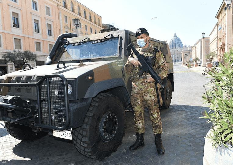 militari contagiati dal coronavirus