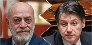 Toni Capuozzo e Giuseppe Conte