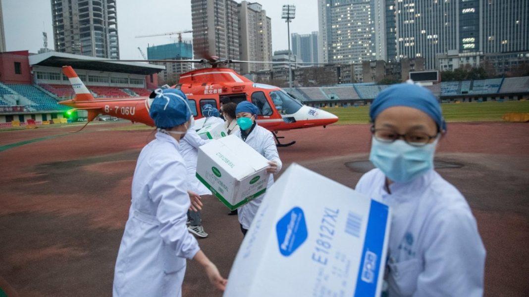Cina aiuti per il coronavirus