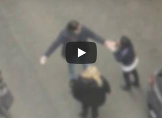 Bari, famiglia protesta in strada (Video)