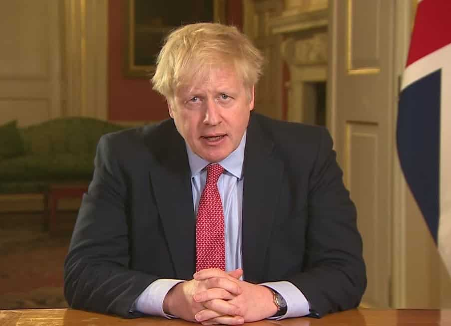 boris johnson coronavirus