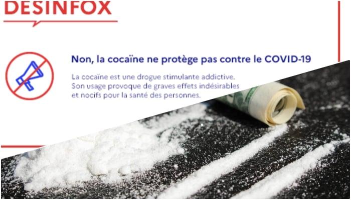 cocaina coronavirus
