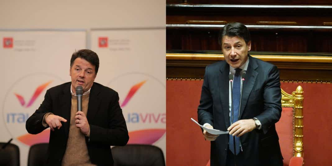 Renzi, e Conte
