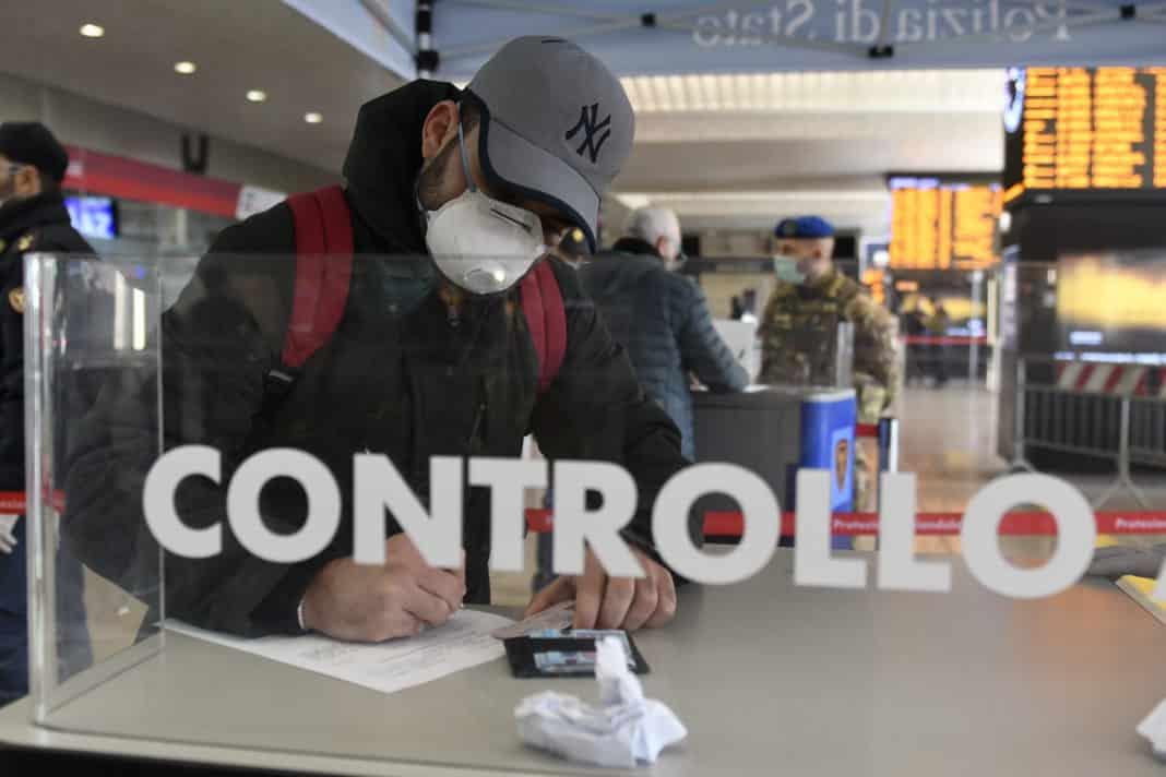 Coronavirus, controllo