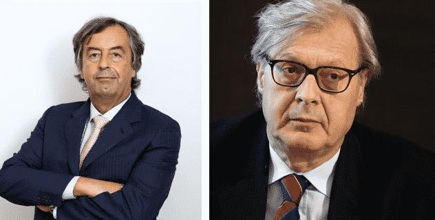 Burioni contro Vittorio Sgarbi sul coronavirus