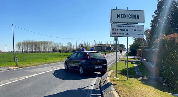 Medicina, comune del Bolognese in quarantena