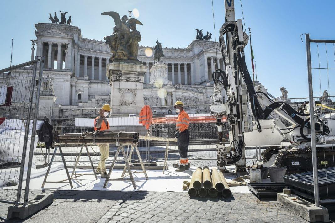 Cura Italia, altare della patria