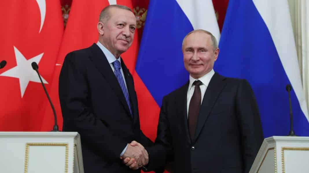 Erdogan, con Putin