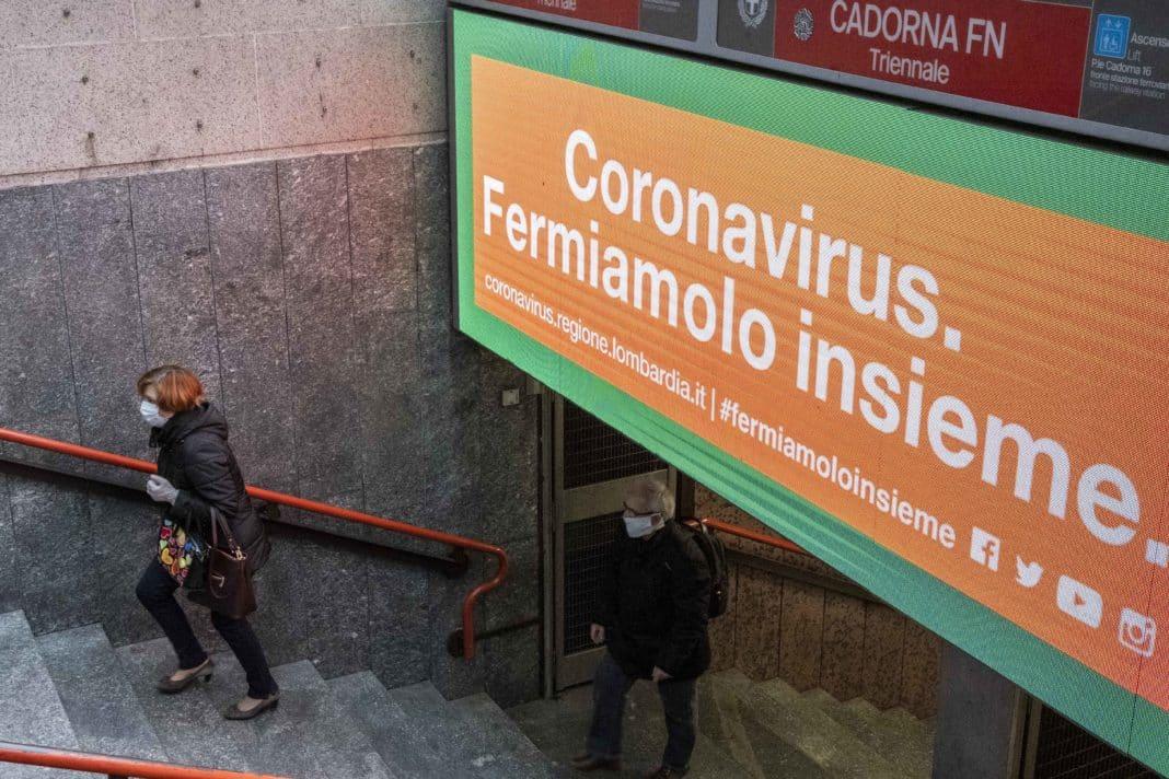 Milano, coronavirus