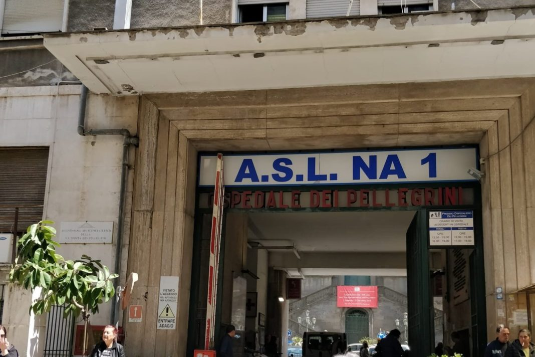 Napoli, ospedale Pellegrini