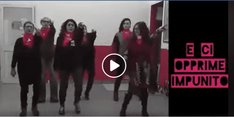 Non una di meno, video femminista