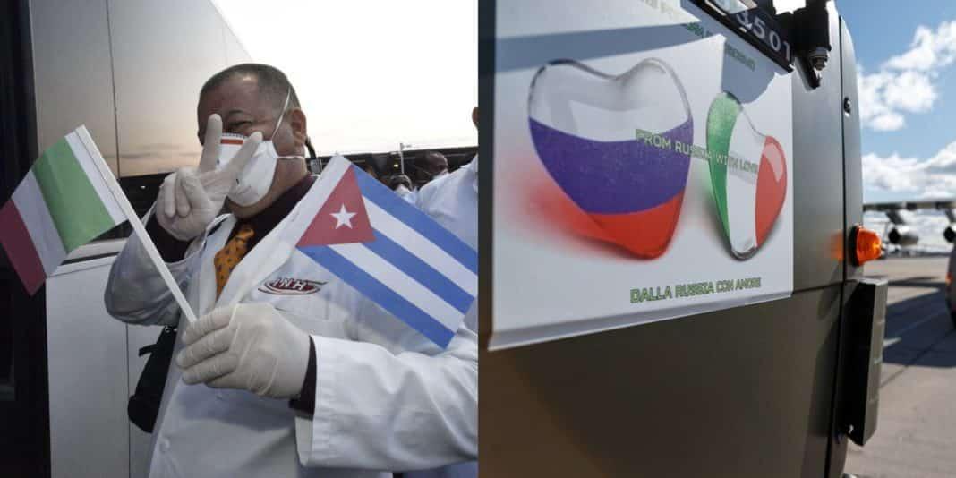 Cuba e Russia, aiuti