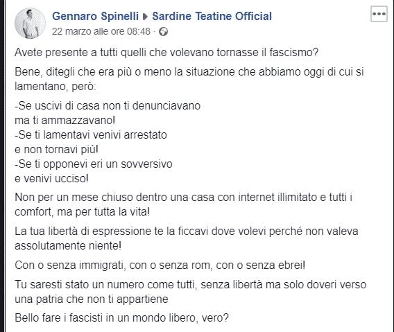 Sardina e fascismo