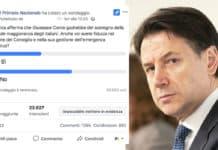 giuseppe Conte sondaggio