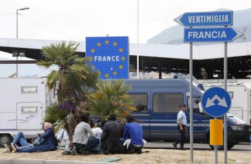 ventimiglia coronavirus immigrati Francia