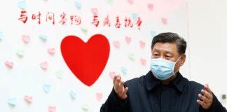xi jinping coronavirus Cina