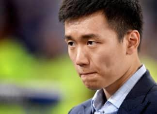 Il presidente dell'Inter Zhang