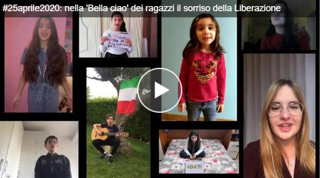 Bambini cantano Bella ciao per Repubblica