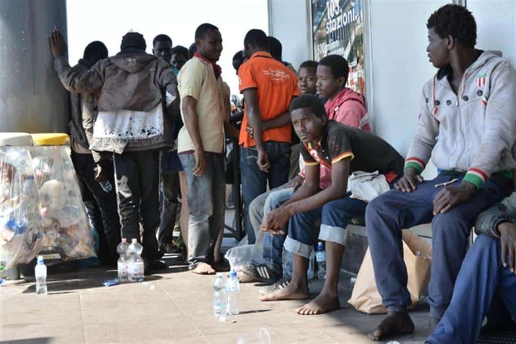 nigeriano centro di accoglienza