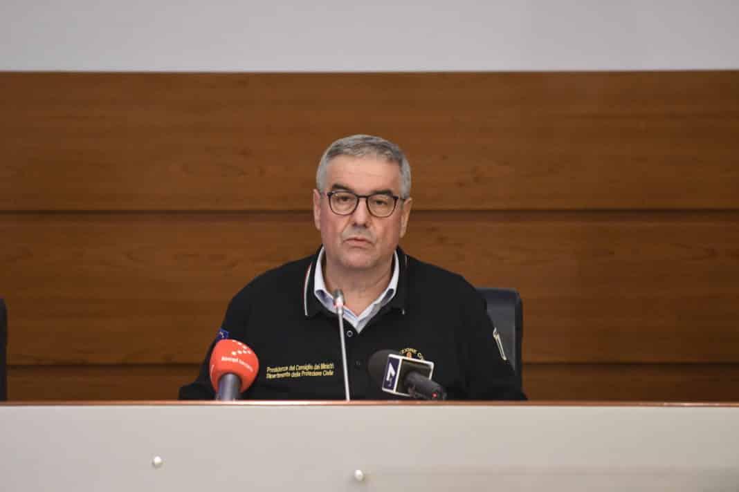 Borrelli, bollettino Protezione civile