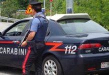 Cattolica carabinieri posto di blocco