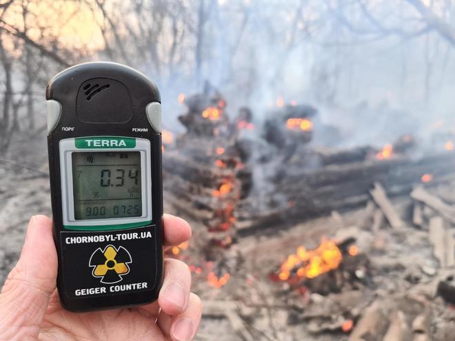 Chernobyl, incendio mette in allarme eperti