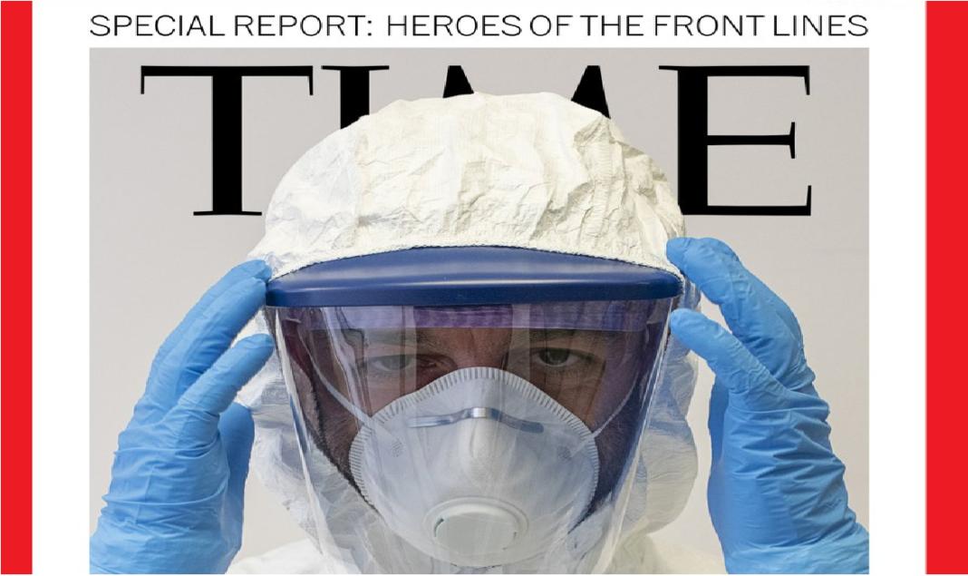 Medico italiano simbolo della lotta al coronavirus per