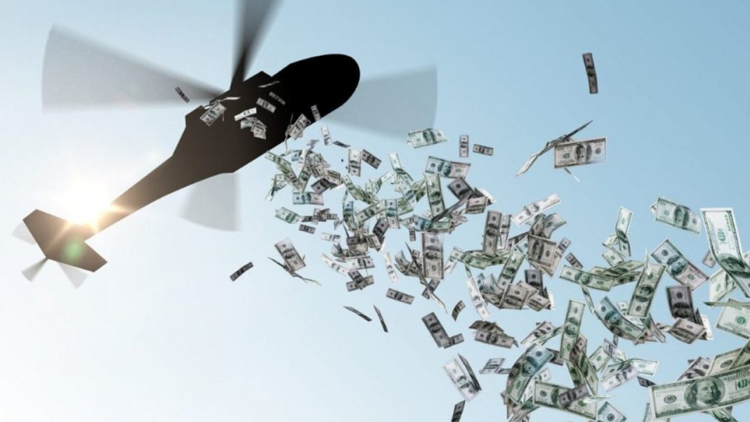 banche centrali helicopter money