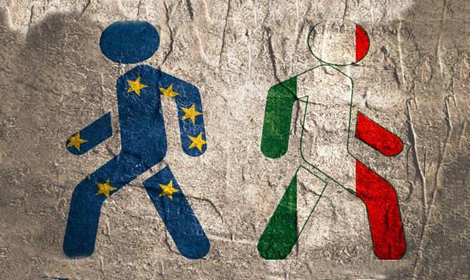 Sempre più scontenti dell'Ue: un italiano su due vuole uscirne ...