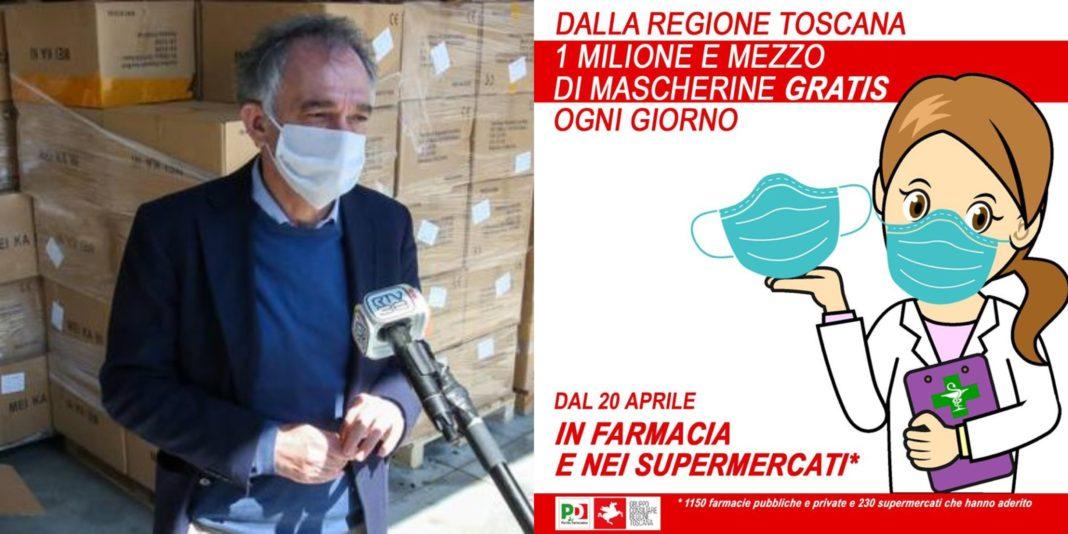 Toscana, mascherine