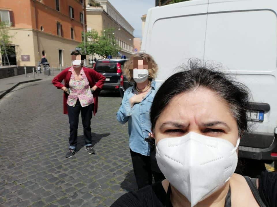 Michela Murgia rischia multa per un selfie