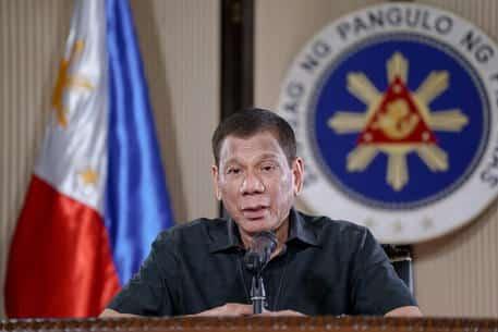 Duterte sul coronavirus