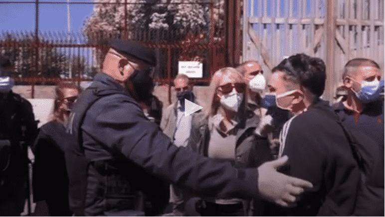 Coronavirus, ancora proteste carcere Rebibbia