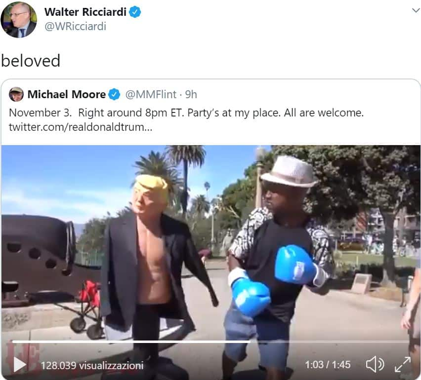 Ricciardi, Trump