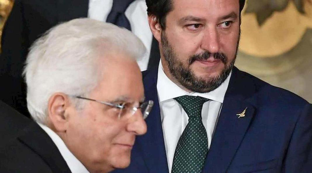 Salvini chiama Mattarella:
