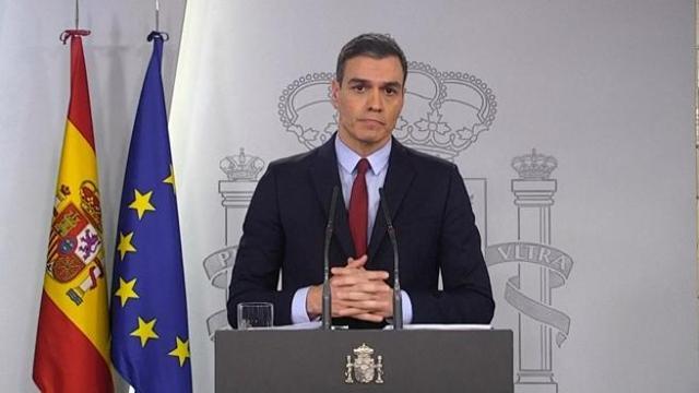 Sanchez, riapertura Spagna in 4 fasi