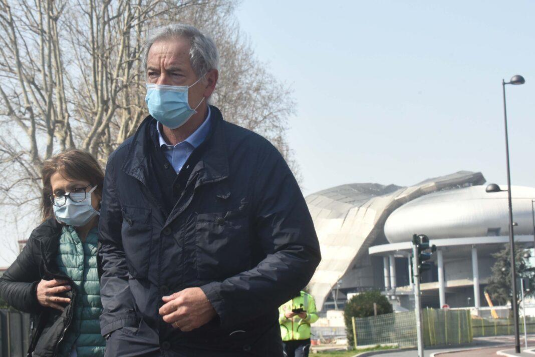Guido Bertolaso sulle mascherine