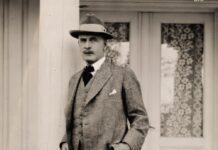 Lo scrittore Knut Hamsun