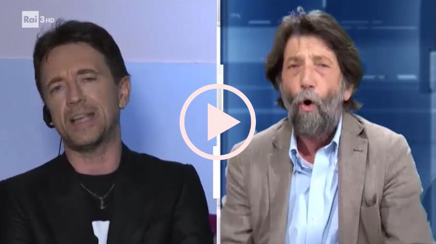 Andrea Scanzi e Massimo Cacciari