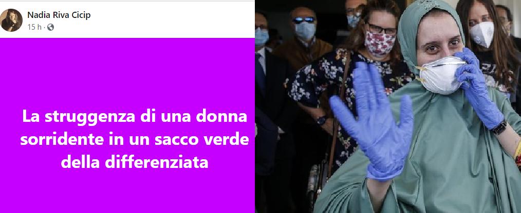 Femministe in tilt per Silvia Romano